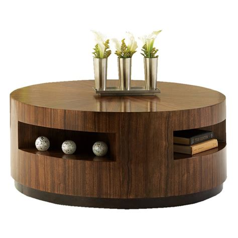 round wood coffee table coffee tables shop at hayneedle com