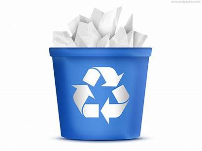 Bin Icon Recycling Recycle Psd Icons Clipart