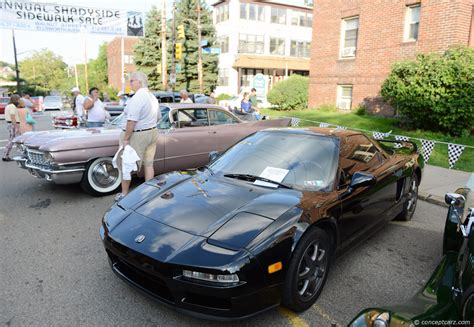 1996 acura nsx at the pittsburgh vintage grand prix