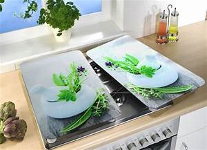 Abdeckplatten Für Herd : herd abdeckplatten im 2er set aus glas haushaltshelfer ~ Watch28wear.com Haus und Dekorationen