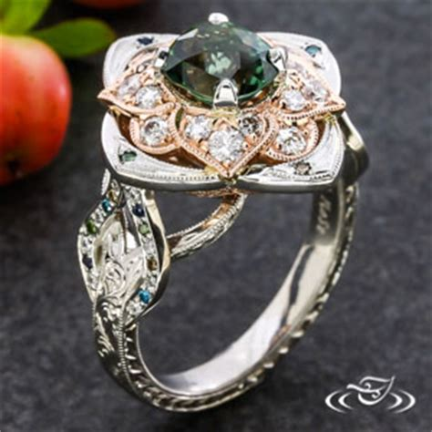 unique engagement rings design your own engagement ring and custom wedding band