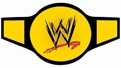 Wwe Belt Wrestling Championship Clipart Template Transparent