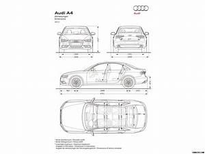 Dimensions Audi A4 : 2013 audi a4 dimensions wallpaper 34 1600x1200 ~ Medecine-chirurgie-esthetiques.com Avis de Voitures