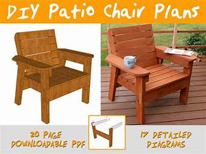 DIY Patio Chair Plans and Tutorial - Step by Step Videos