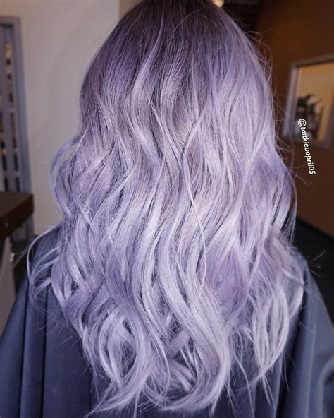 Lilac Silver Hair Hair Diddies In 2019 Hair Purple