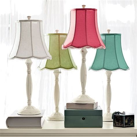 pottery barn teen lighting pottery barn teen l shades blue or pink color
