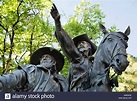 "Statue ""The Founding of Santa Fe, Don Pedro de Peralta ..."