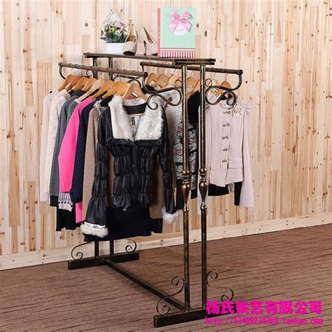 the racks boutique wrought iron clothing rack clothing display