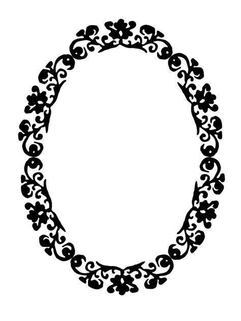 OnlineLabels Clip Art - Decorative Frame 1