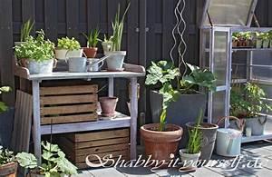Obstkisten Deko Garten : shabby tont pfe f r den garten inkl test kreidefarbe f r ~ Michelbontemps.com Haus und Dekorationen