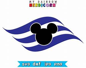 Disney Cruise logo svg png jpg dxf Disney by ...