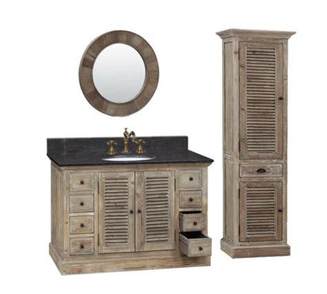 48 inch vanity cabinet only legion 48 inch rustic single sink bathroom vanity wk1948