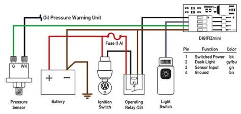 Vdo Oil Pressure Switch Wiring Somurich