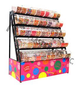 Decorative Metal Containers by Candy Bin Candy Bins Candy Rack Candy Display