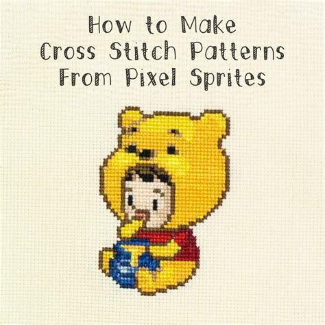 how to cross stitch i am luna sol how to make cross stitch patterns from pixel sprites