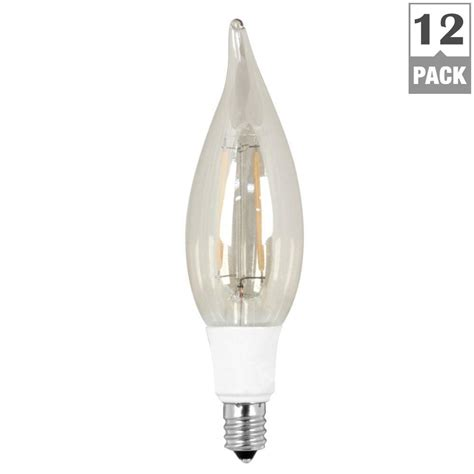 feit electric 40w equivalent soft white 2200k ca10