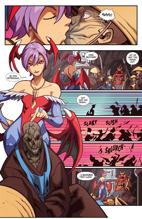 Street Fighter Vs Darkstalkers Issue 2 Read Street