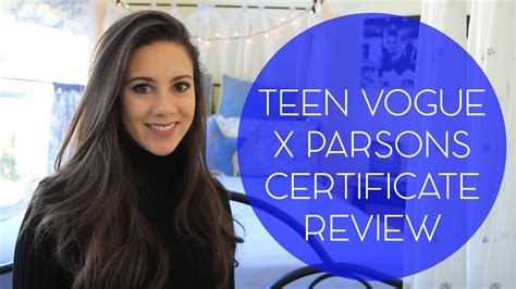 Teen Vogue x Parsons Certificate Program Review - YouTube