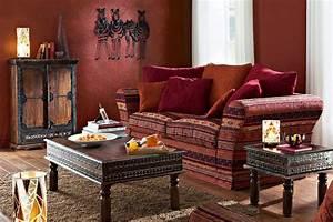 Décoration Orientale Moderne : salon marocain traditionnel design moderne ~ Teatrodelosmanantiales.com Idées de Décoration