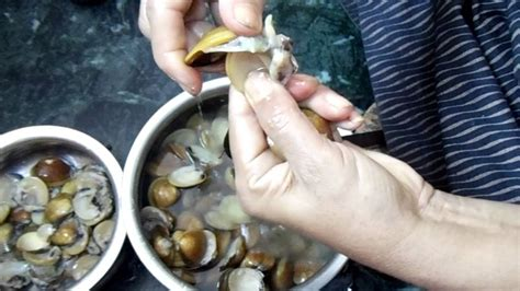 How To Clean Marvai/clams/shell Fish