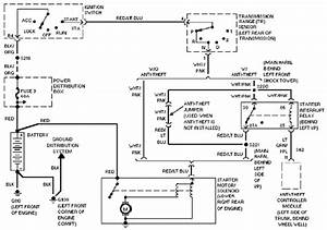Ford Thunderbird U201997 Starting Circuit And Schematic Diagram