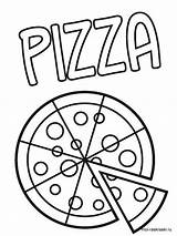 Pizza Coloring Pages Printable Web Recommended Favorite Lovesmag sketch template