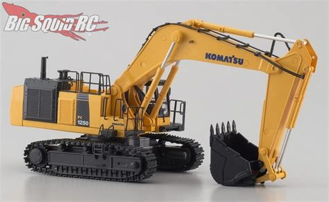 kyosho komatsu hydraulic excavator big squid rc rc car  truck news reviews
