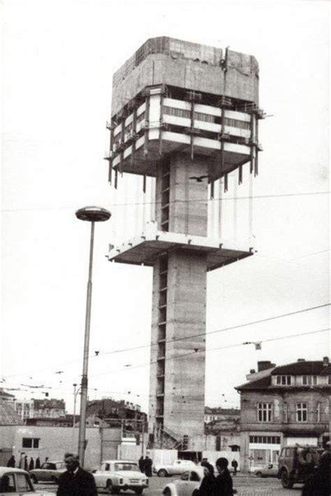 Sofia Bulgaria Brutalism Tower Socialist Brutalism