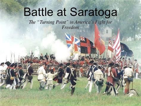 what is the meaning of siege battle at saratoga