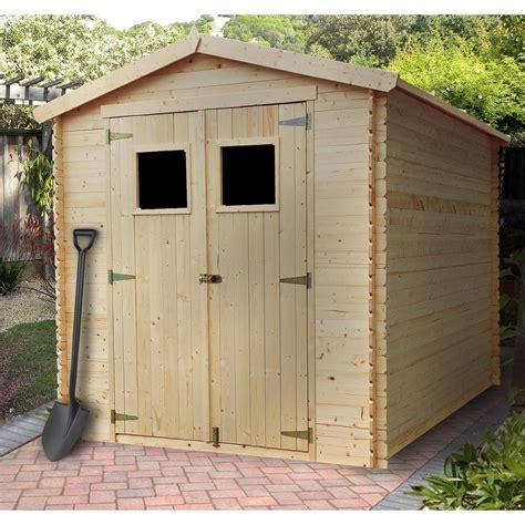 abri en bois abri de jardin bois 5 00 m2 trigano store
