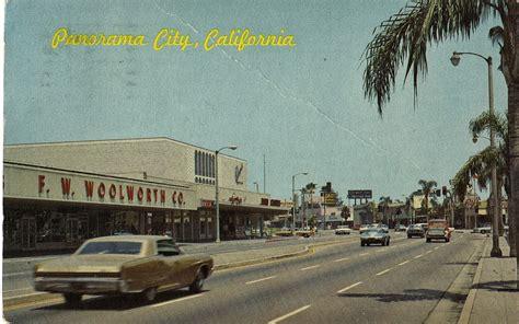 Panorama Mall In Panorama City Postcard  San Fernando