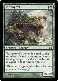 Tarmogoyf Deck Modern 2015 tarmogoyf magic card