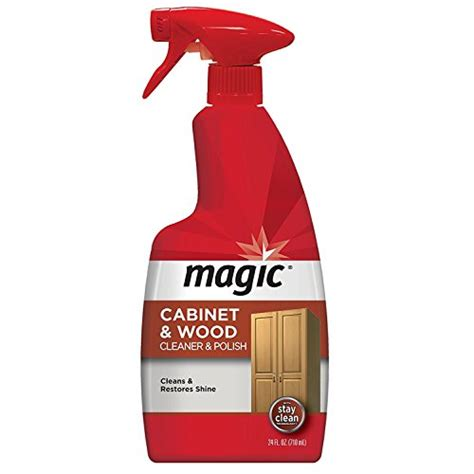 cabinet cleaner and polish magic american cabinet and wood cleaner polish 24 fl oz