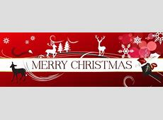 Download Merry Christmas Banner Backgrounds