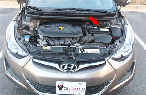diy battery replacement hyundai elantra