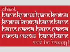 Chanting the MahaMantra The Hare Krishna Movement