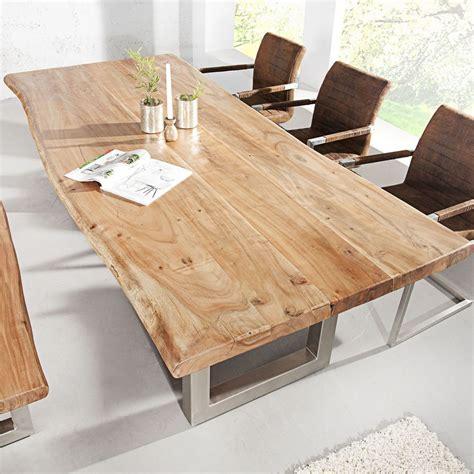 Tische Aus Holz by Esstisch Baumstamm Tisch Mammut Akazie Massivholz