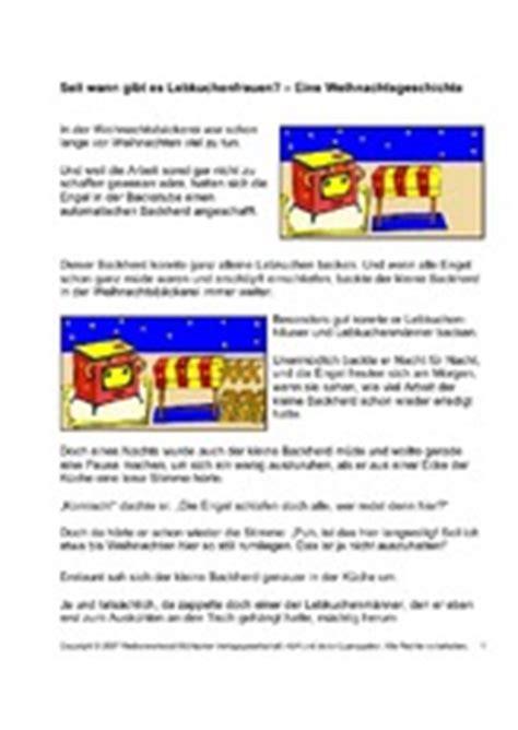 Seit Wann Gibt Es Kühlschränke by Lebkuchen In Der Grundschule Grundschulmaterial De