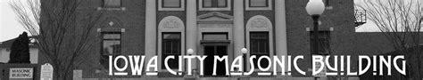 calendar iowa city masonic building