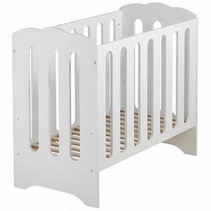 Lit Bebe Nuage : lit barreaux b b bois massif blanc mini nuage 50 ~ Teatrodelosmanantiales.com Idées de Décoration