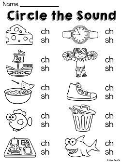 digraphs ch worksheets and activities no prep