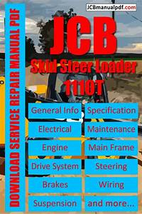 Jcb Skid Steer Loader 1110t Service Manual Pdf 1407000