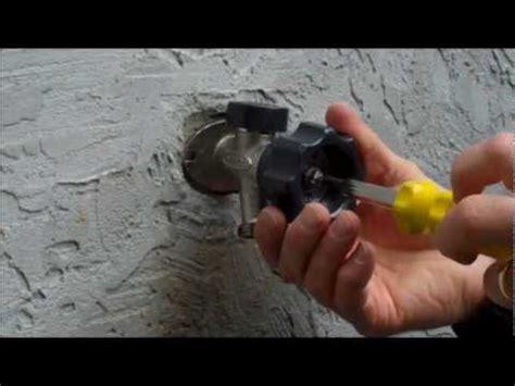 mansfield style hydrant repair video leaking