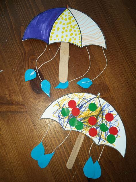parapluie  batonnet de glace creations dautomne