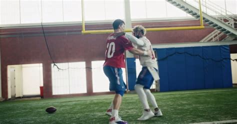 Super Bowl Ad Features Eli Manning And Odell Beckham Jr In