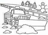Coloring Snowplow Plow Pierce Wa County Official Piercecountywa sketch template