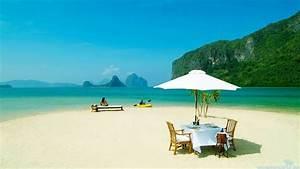 Relaxing Beach Wallpaper - WallpaperSafari