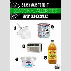 5 Easy Ways To Fight Seasonal Allergies At Home—aaaachooooo