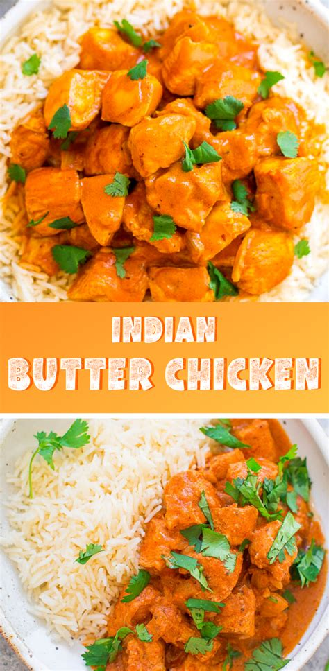 This is the creamiest indian butter chicken recipe you ever had. Indian Butter Chicken