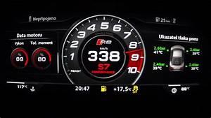 Audi R8 V10 Plus 2016 - acceleration 0-338 km/h, top speed ...